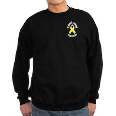 Bladder Cancer Survivor Sweatshirt (dark)