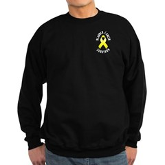 Bladder Cancer Survivor Sweatshirt (dark)