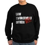 Off Duty Law Enf. Off. Sweatshirt (dark)