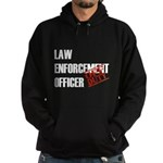 Off Duty Law Enf. Off. Hoodie (dark)