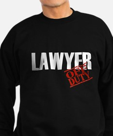 Off Duty Lawyer Sweatshirt (dark)