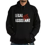 Off Duty Legal Assistant Hoodie (dark)