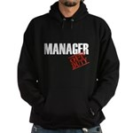 Off Duty Manager Hoodie (dark)