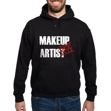 Off Duty Makeup Artist Hoodie (dark)