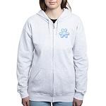 Flurry Snowflake XII Women's Zip Hoodie