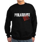 Off Duty Philatelist Sweatshirt (dark)