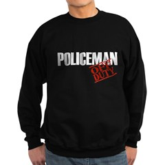 Off Duty Policeman Sweatshirt (dark)