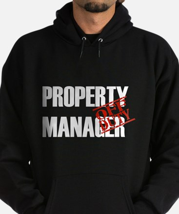Off Duty Property Manager Hoodie (dark)