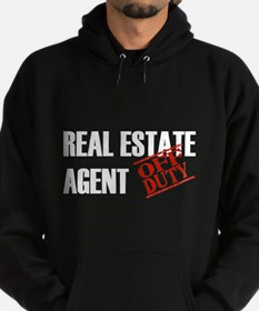 Off Duty Real Estate Agent Hoodie