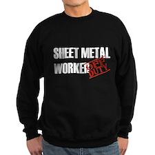 Off Duty Sheet Metal Worker Sweatshirt