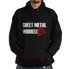 Off Duty Sheet Metal Worker Hoodie