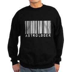 Astrologer Barcode Sweatshirt