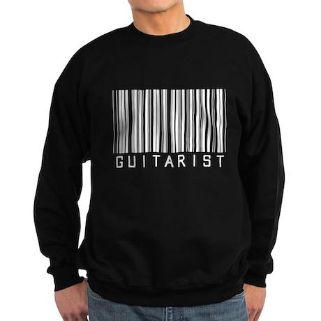 Guitarist Barcode Sweatshirt (dark)