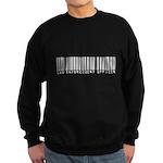 Law Enforcement Ofcr Barcode Sweatshirt (dark)