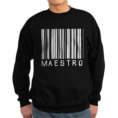 Maestro Barcode Sweatshirt