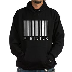 Minister Barcode Hoodie
