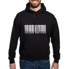 Nuclear Engineer Barcode Hoodie