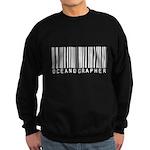 Oceanographer Barcode Sweatshirt (dark)