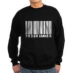 Programmer Barcode Sweatshirt (dark)