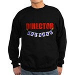 Retired Director Sweatshirt (dark)