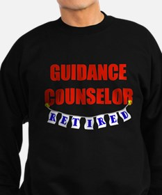 Retired Guidance Counselor Sweatshirt (dark)