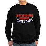Retired Heavy Equipment Opera Sweatshirt (dark)