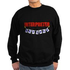Retired Interpreter Sweatshirt (dark)