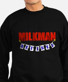Retired Milkman Sweatshirt (dark)