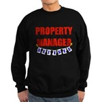 Retired Property Manager Sweatshirt (dark)