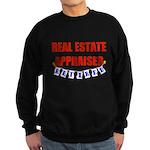Retired Real Estate Appraiser Sweatshirt (dark)