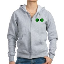 Glowing Eyes Zipped Hoody