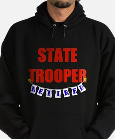Retired State Trooper Hoodie (dark)