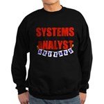 Retired Systems Analyst Sweatshirt (dark)