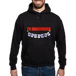 Retired TV Announcer Hoodie (dark)