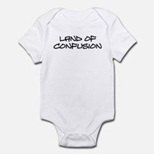 Land of Confusion Infant Bodysuit
