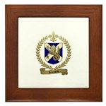 ROUSSEAU Family Crest Framed Tile
