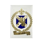 ROUSSEAU Family Crest Rectangle Magnet (10 pack)
