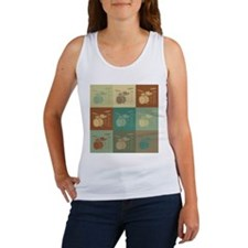 Drums Pop Art Women's Tank Top