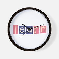 Cute Montessori Wall Clock