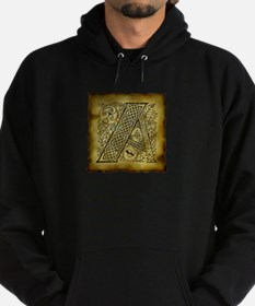 Celtic Letter A Hoodie