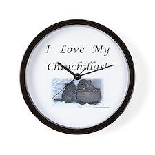 Funny Chinchilla Wall Clock