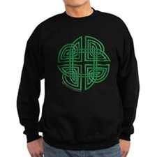 Celtic Four Leaf Clover Sweatshirt