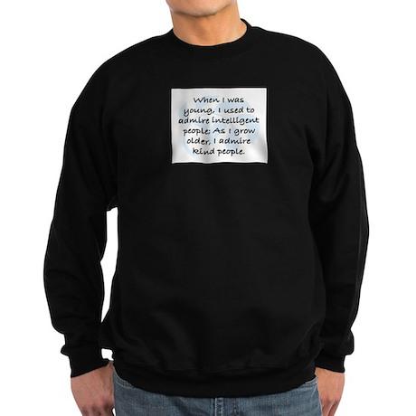 I ADMIRE KIND PEOPLE Sweatshirt (dark)