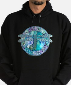 Cool Celtic Dragonfly Hoodie (dark)