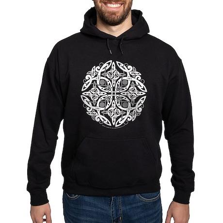 Celtic Mandala Emblem Hoodie (dark)