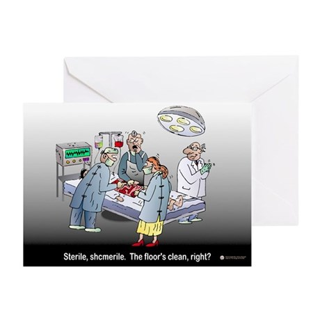 Doctor Physician Humor Greeting Cards (Pk of 20)