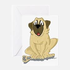 Old English Mastiff Greeting Card