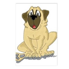 Old English Mastiff Postcards (Package of 8)