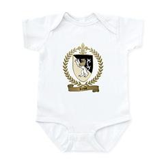 ROSSE Family Crest Infant Creeper