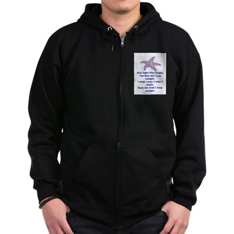 STAR LIGHT - STAR BRIGHT Zip Hoodie (dark)